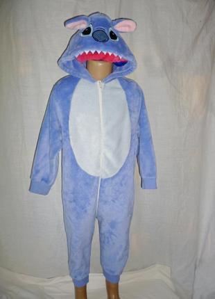 Пижама кигуруми ститч на 5 лет