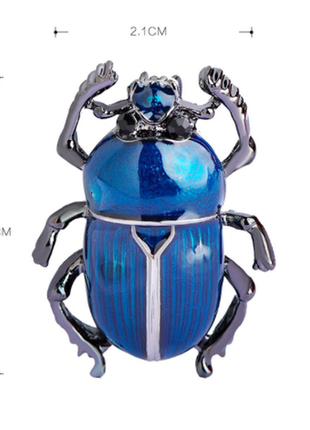 Очень милые жуки скарабеи, бирюза и серебро