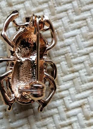 Очень милые жуки скарабеи, бирюза и серебро5 фото