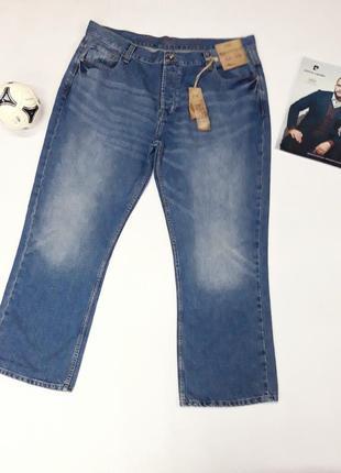 Мужские фирменные джинсы f&f большой размер,  маленький рост