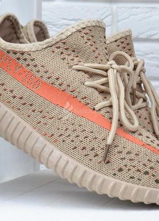 Кроссовки мужские sply 350 текстильные бежевые на шнуровке2 фото