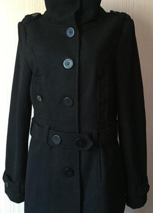 Стильное пальто *only* р. m - 56% шерсть