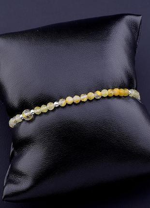 Браслет 'sunstones' волосатик 16 см. 0738250