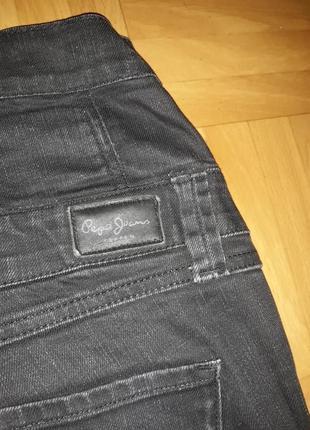 Джинсы с завышенной талией pepe jeans оригинал