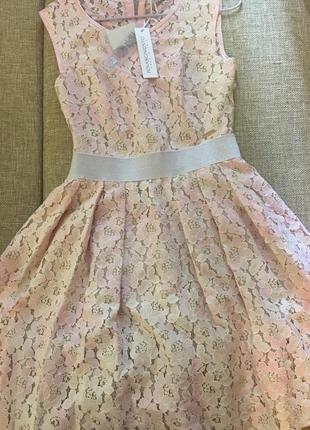 Rinascimento красивейшее гипюровое платье+болеро