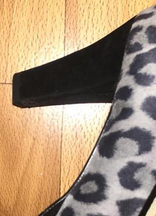 Туфли в леопардовый принт peter kaiser6 фото