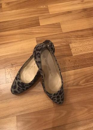 Туфли в леопардовый принт peter kaiser8 фото
