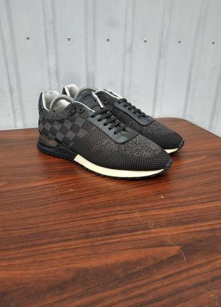 Кроссовки louis vuitton run away sneakers black,размер 43-й...