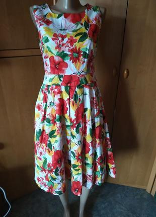 Цветочный тренд! платье от izabel р. 38