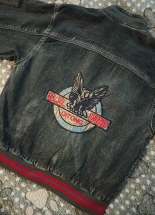 Джинсовая куртка на мальчика3 фото
