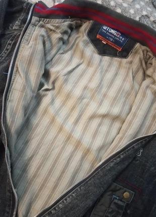 Джинсовая куртка на мальчика4 фото