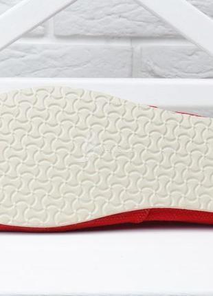 Кеды мужские эспадрильи toms красные мокасины текстильные3 фото