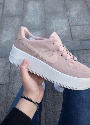 33d8502b Шикарные женские кроссовки nike air force 1 sage low pink 😍 (весна/ лето/