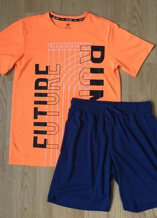 Набор футболка и шорты. размер 12-14 лет