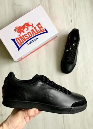 Мужские кожанные кроссовки оригинал lonsdale holborn 42-45 размер