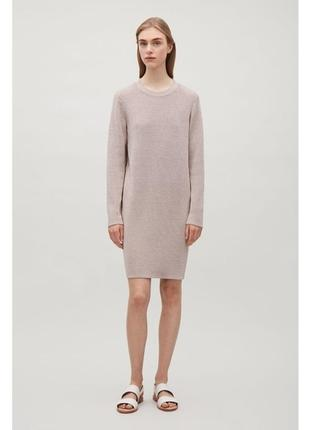 Блестящее платье cos 505100001