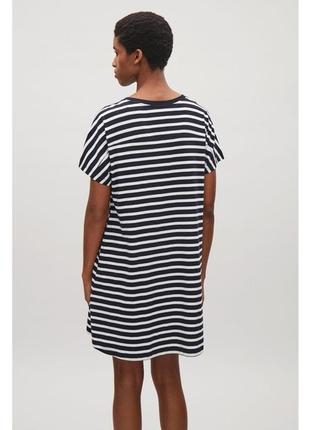 Платье тельняшка cos 413472001