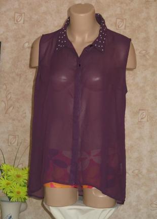 Оригинальная легкая блуза