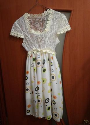 Платье летнее, нарядное