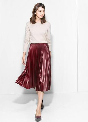 Asos плиссированная юбка