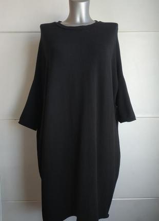 Стильное платье-кокон pull& bear свободного кроя оверсайз