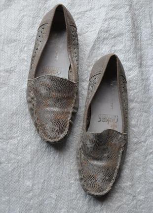 Туфли мокасини rieker