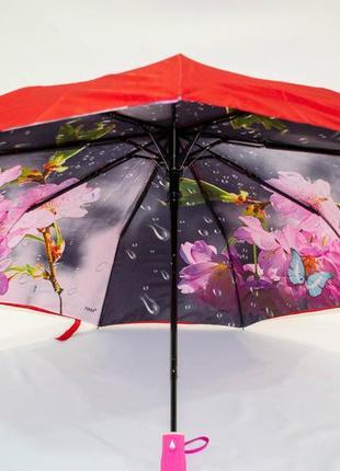 💕распродажа💕 шикарный крепкий женский зонт двойная ткань fiaba. невероятно красивый