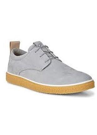 Кожаные ботинки ecco crepetray, 42 размер
