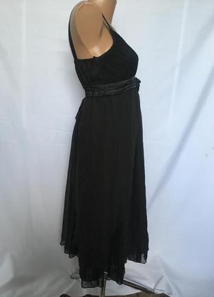 Нарядное чорное платье3 фото