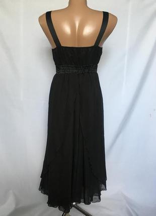 Нарядное чорное платье4 фото