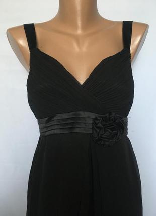 Нарядное чорное платье5 фото