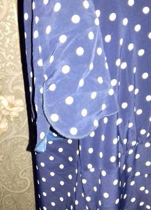Романтичное платье в горохи4 фото
