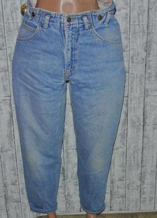 Крутые джинсы  бананы высокая посадка l 12р. 29-30р.