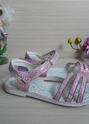 Открытые босоножки для девочки том.м розовые 32-37р