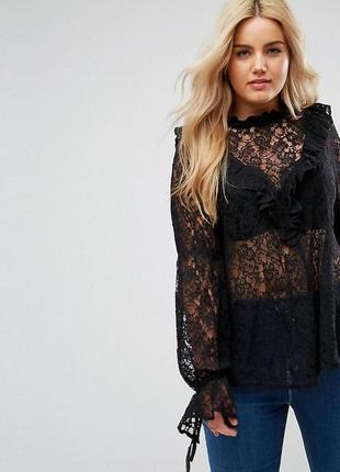 Кружевная блуза, очень изысканная