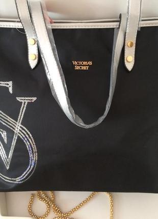 Сумка шопер от victoria's secret3 фото