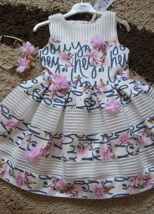 Нарядное платье для девочки cocoland турция