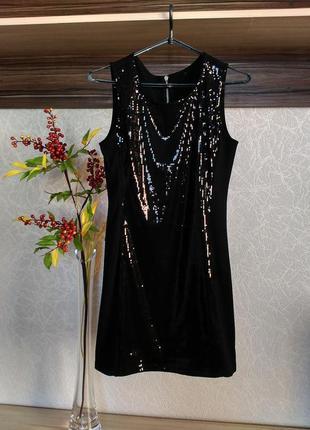 Маленьке чорне плаття р. 34/6 h&m