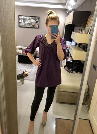 Рубашка туника vero moda с украшением