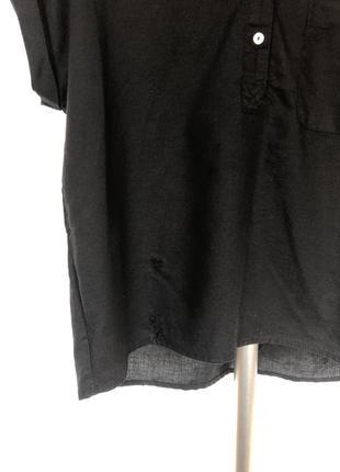 Льняная рубашка mango5 фото