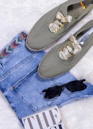 Мокасины с плетеной подошвой, туфли на платформе, льняные мокасины, мокасины на платформе