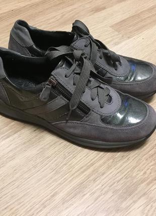 Туфли кроссовки кожа замша medicus 41 размер