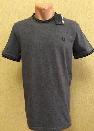 Мужская новая футболка fred perry оригинал размер m