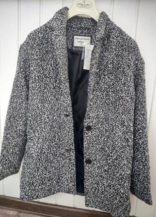 Новое пальто-пиджак terranova размер l