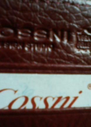 Кожаное портмоне,  от cossni, кошелек из перфорированного нубука, новое!5 фото