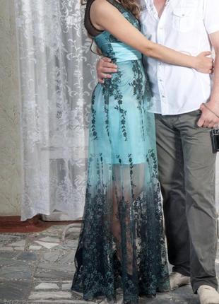 Шикарное выпускное платье!
