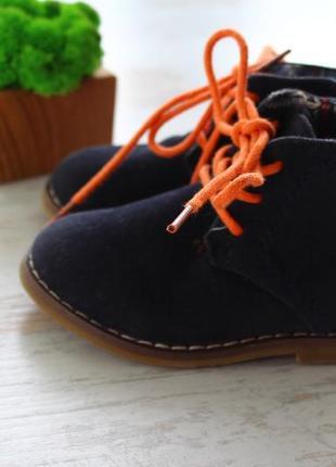 Демисезонные ботинки ботиночки rebel размер 19