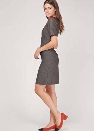 Деловое офисное повседневное летнее платье футляр бренд collection london, англия