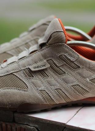 Кожаные кроссовки ботинки geox 43-44