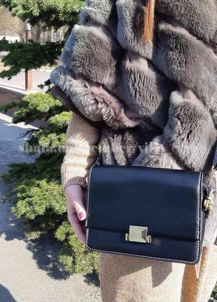 Клатч, сумка через плечо 82084 черный